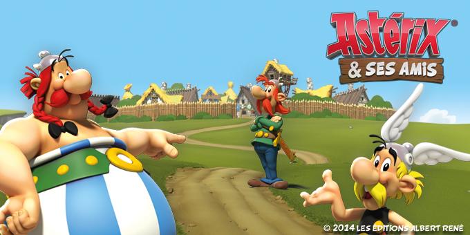 Asterix et ses amis jeu gratuit de strat gie - Asterix gratuit ...