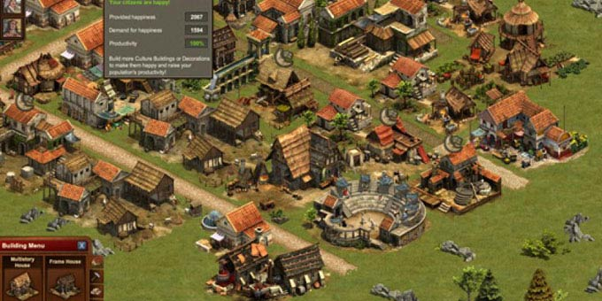 Jouer à Forge of Empires