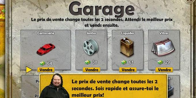 Astuces sur le jeu garbage garage for Garage recuperer voiture