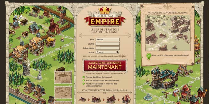 Jouer à Goodgame Empire