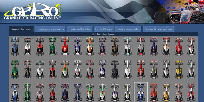 grand prix racing online jeu gratuit de formule 1. Black Bedroom Furniture Sets. Home Design Ideas