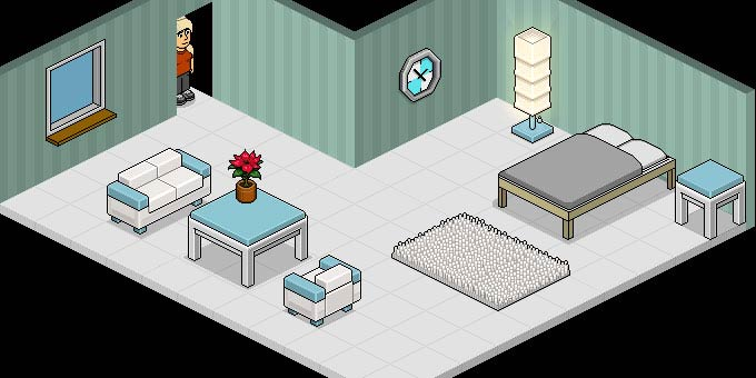 HABBO HOTEL - le chat 3D originel