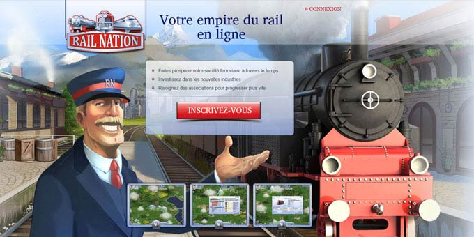 Jouer à Rail Nation