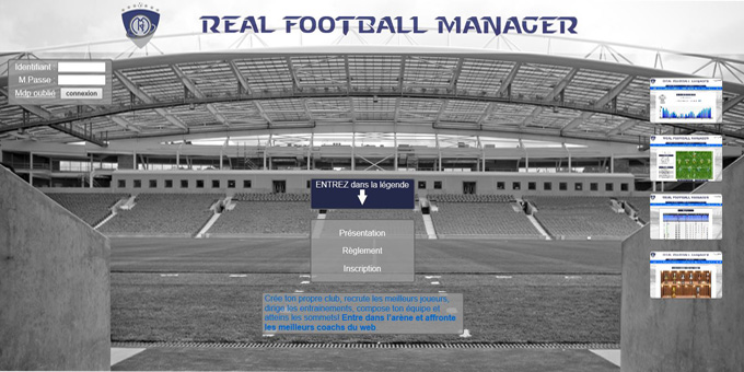 Jouer à Real Football Manager