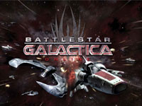Copie d'écran du jeu BattleStar Galactica