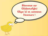 Copie d'écran du jeu CHICKEN TO FIGHT