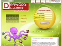 Copie d'écran du jeu Defiword