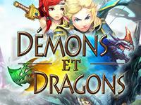 Copie d'écran du jeu Demons et Dragons