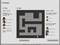Copie d'écran du jeu Double donjon