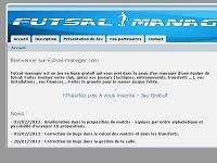 Copie d'écran du jeu Futsal-Manager