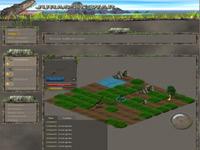 Copie d'écran du jeu Jurassic War