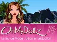 Copie d'écran du jeu Oh My Dollz !
