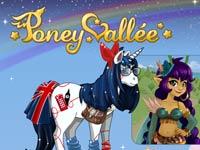 Copie d'écran du jeu Poney Vallee