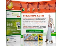 Copie d'écran du jeu TennisPlayer