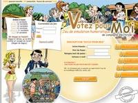 Copie d'écran du jeu Votez pour Moi