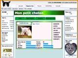Copie d'écran du jeu Mon Chaton